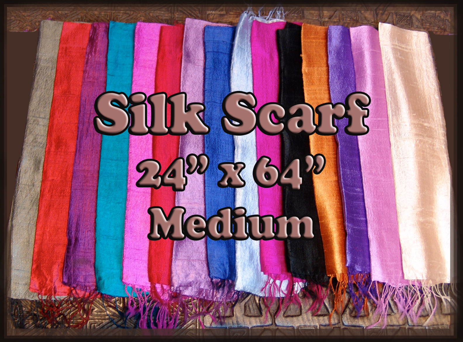 Silk Scarf - Medium