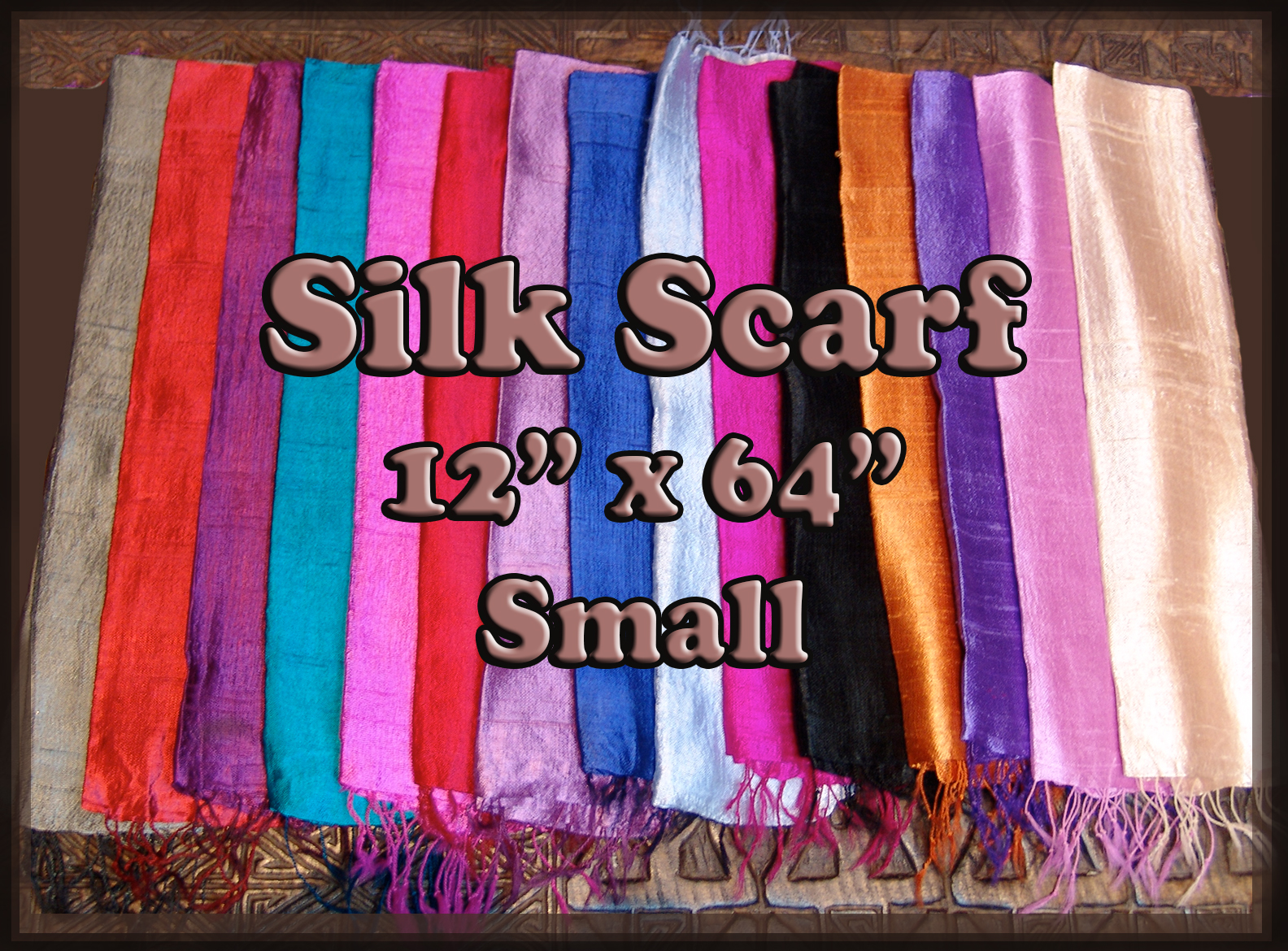 Silk Scarf - Small
