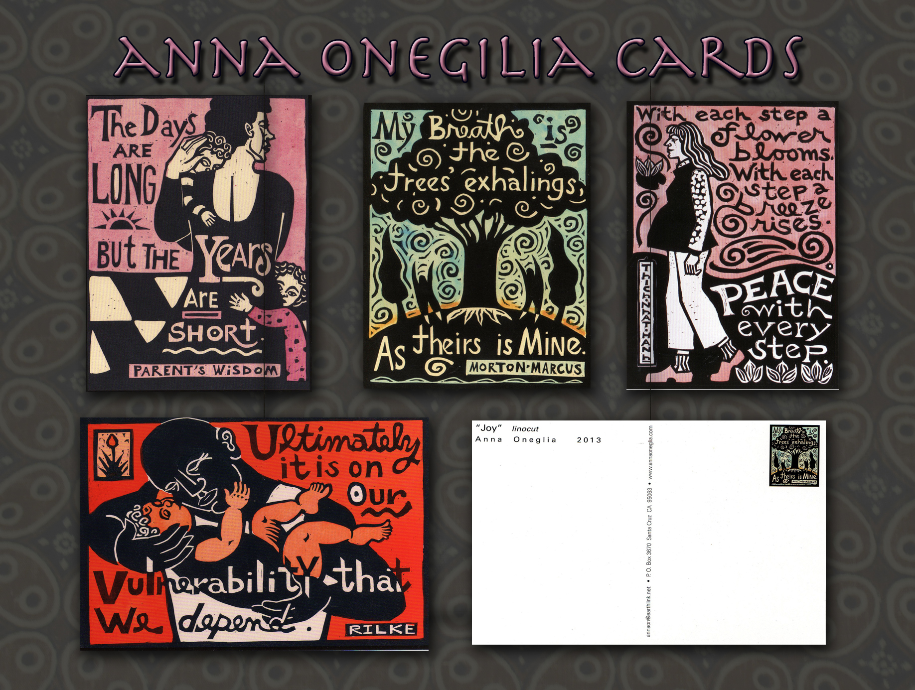 Anna Oneglia Quote Card