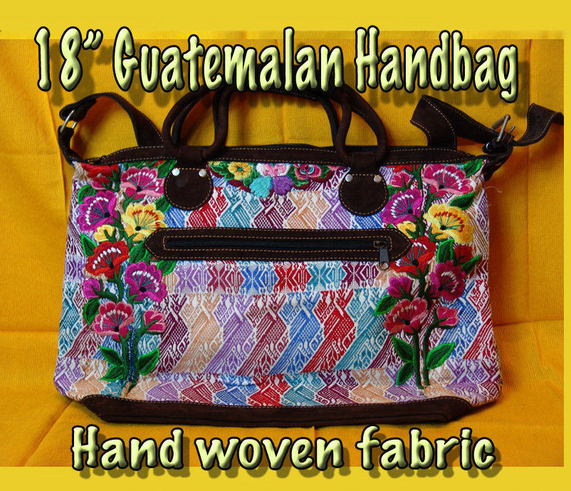"Guatemalan Handbag - 18"" Medium"