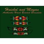 Huichol and Mayan Beaded Bracelets