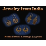 Earring - Medium Brass