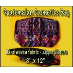 Guatemalan Cosmetics Bag - Large