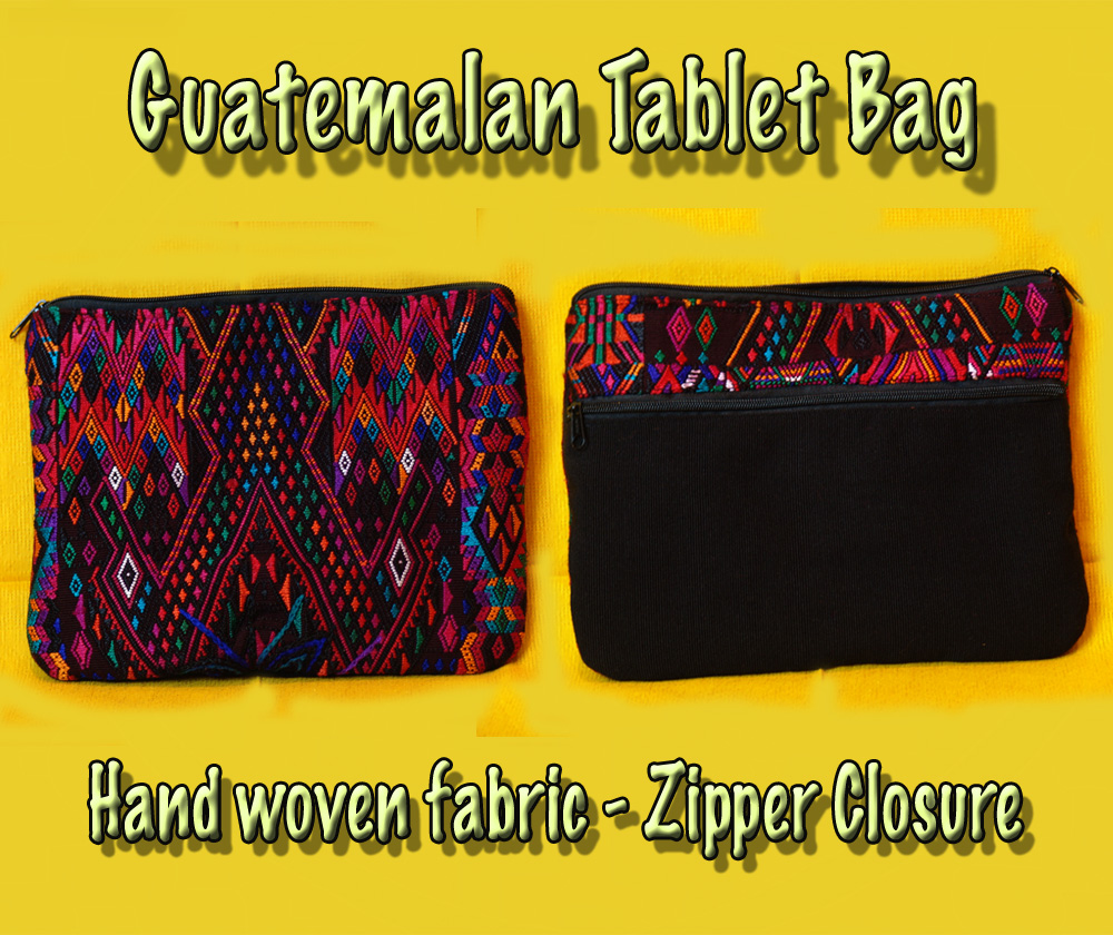 "Guatemalan Tablet Case - 8"" x 11\"""
